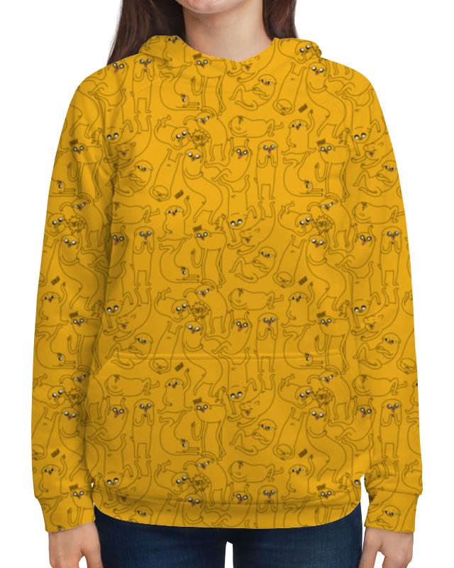 Толстовка с полной запечаткой Printio джейк пёс. время приключений футболка с полной запечаткой для мальчиков printio джейк пёс время приключений