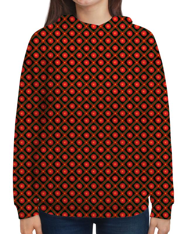 Толстовка с полной запечаткой Printio Темный геометрический узор борцовка с полной запечаткой printio темный геометрический узор