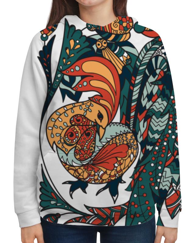 Толстовка с полной запечаткой Printio Петушиное разноцветие футболка print bar петушиное разноцветие