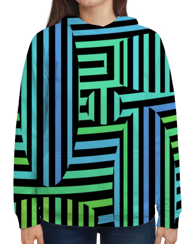 Толстовка с полной запечаткой Printio Оптическая иллюзия  7