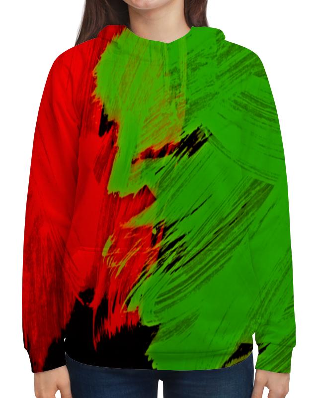 Фото - Толстовка с полной запечаткой Printio Битва красок толстовка с полной запечаткой printio буря красок