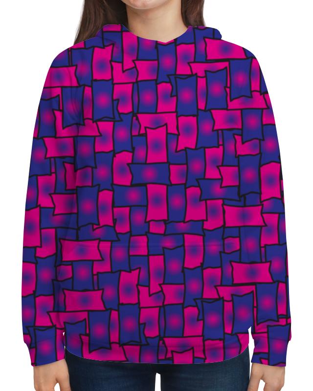 Толстовка с полной запечаткой Printio Прямоугольники леггинсы printio прямоугольники
