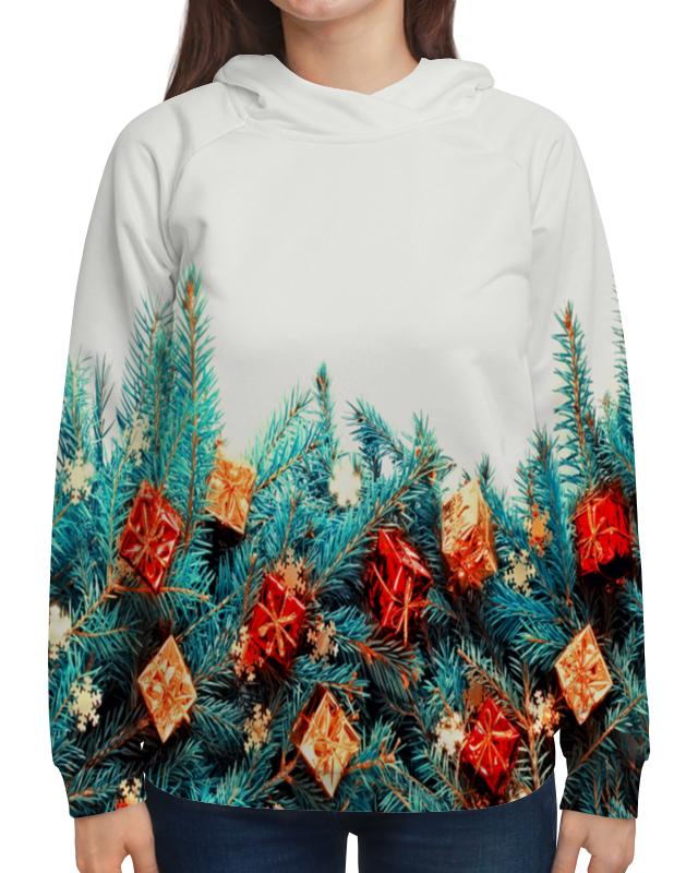 Толстовка с полной запечаткой Printio Подарки на елке свитшот мужской с полной запечаткой printio подарки на елке