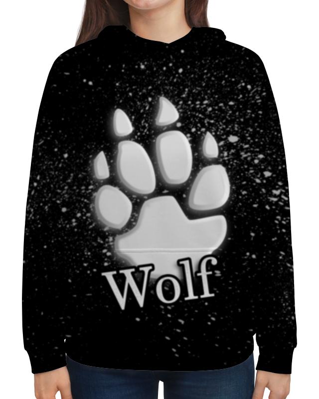 Толстовка с полной запечаткой Printio Лапа волка борцовка с полной запечаткой printio лапа волка