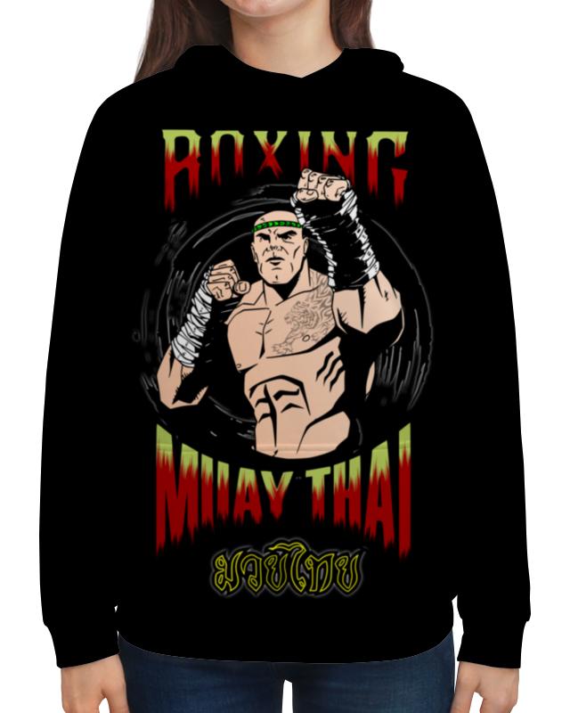 Толстовка с полной запечаткой Printio Muay thai дмитрий щегрикович тайский бокс