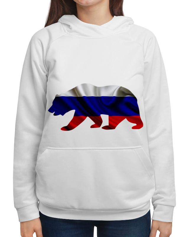 Толстовка с полной запечаткой Printio Русский медведь гиря iron head медведь 32 0 кг
