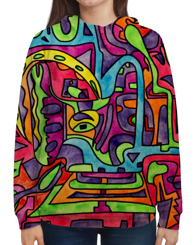 Толстовка с полной запечаткой Printio Fp`pf-o[]80 футболка с полной запечаткой для девочек printio fp pf o[]80