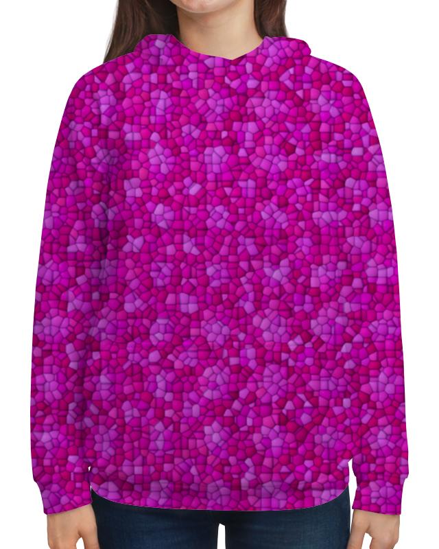 Толстовка с полной запечаткой Printio Purple wen original design custom hand painted shoes floral purple rose women men s high top canvas sneakers for gifts