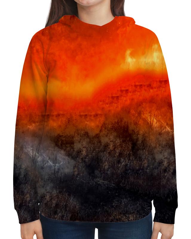 Толстовка с полной запечаткой Printio Оранжевый закат борцовка с полной запечаткой printio оранжевый закат
