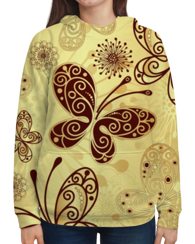 Толстовка с полной запечаткой Printio Бабочки толстовка с полной запечаткой printio бабочки