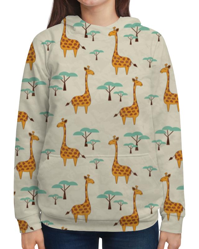 Толстовка с полной запечаткой Printio Жирафы ahura 06фигура жирафы
