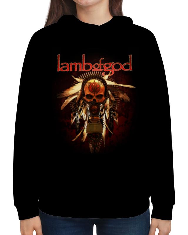 Толстовка с полной запечаткой Printio Lamb of god mstrkrft mstrkrft fist of god