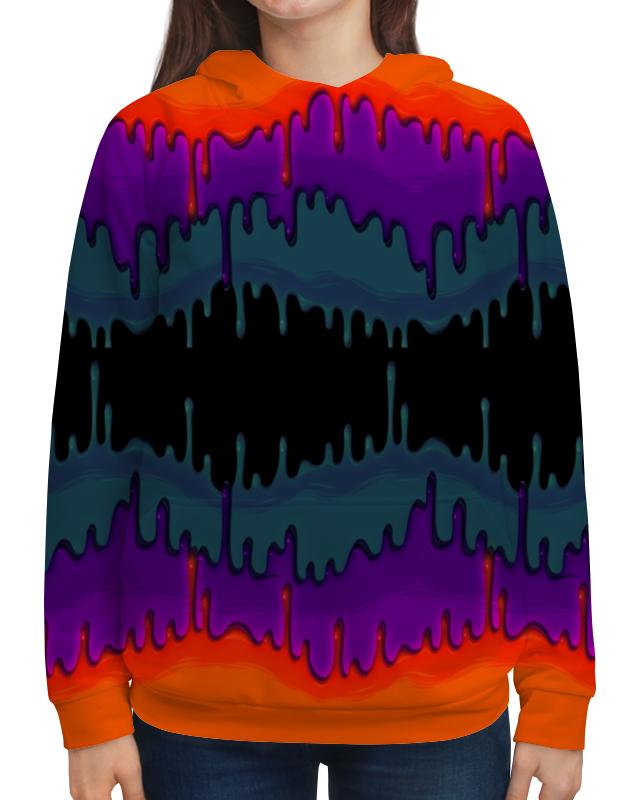 Толстовка с полной запечаткой Printio Акварельные краски