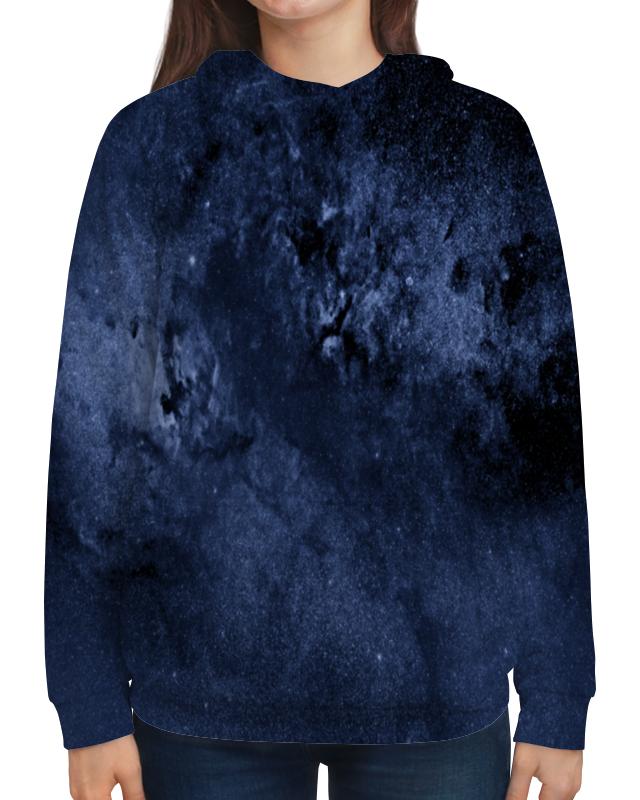 Толстовка с полной запечаткой Printio Звезды в небе бомбер printio звезды в небе