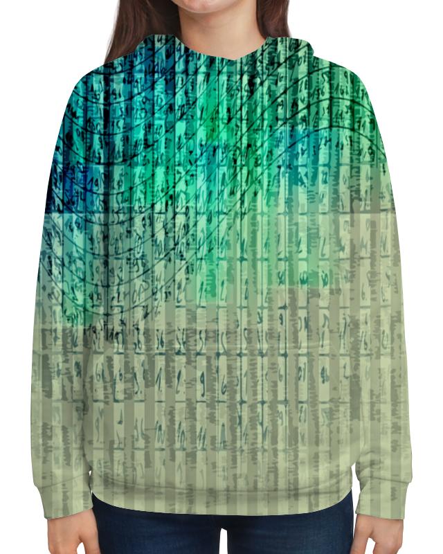 Толстовка с полной запечаткой Printio Иероглифы футболка с полной запечаткой для девочек printio иероглифы