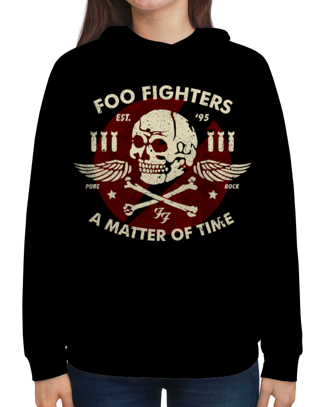 Толстовка с полной запечаткой Printio Foo fighters foo fighters foo fighters skin