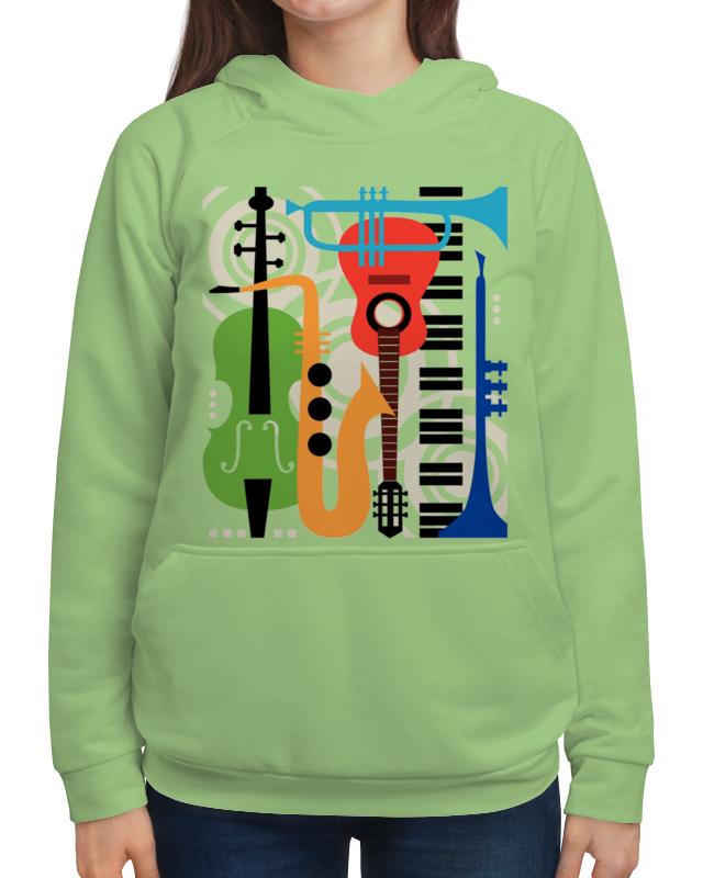 Толстовка с полной запечаткой Printio Музыкальные инструменты музыкальные инструменты
