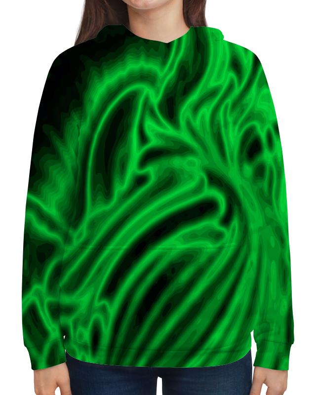 Толстовка с полной запечаткой Printio Яркий зеленый толстовка с полной запечаткой printio зеленый хаки