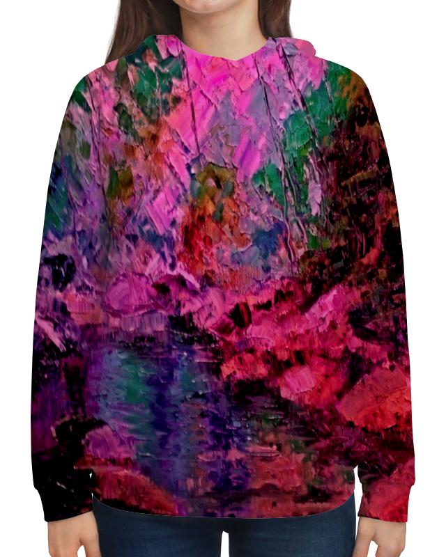 Толстовка с полной запечаткой Printio Краски лета ольга заровнятных рецепт идеального лета