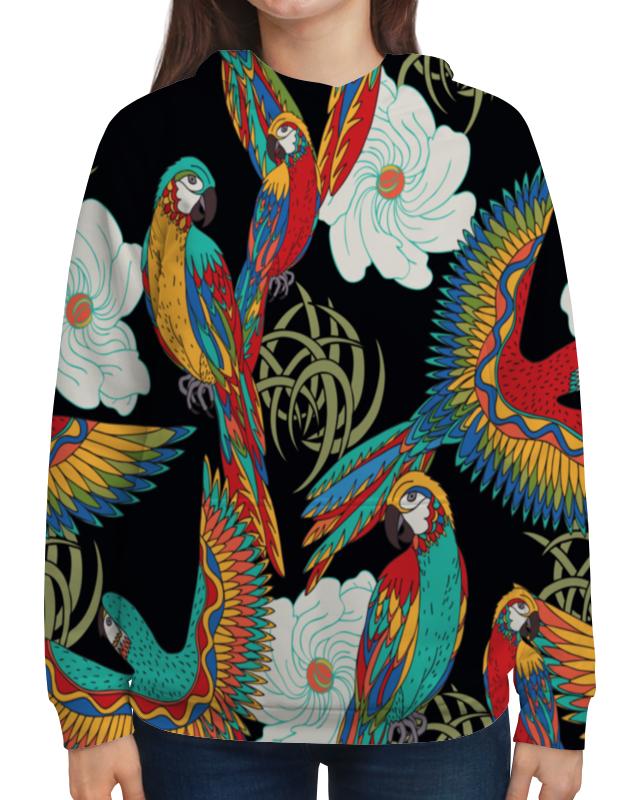 Толстовка с полной запечаткой Printio Попугаи сумка с полной запечаткой printio попугаи