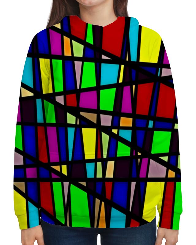 Толстовка с полной запечаткой Printio Line линии юбка в складку printio line линии