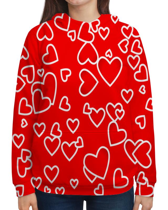 Толстовка с полной запечаткой Printio Сердце толстовка с полной запечаткой printio сердце капли дождя любовь