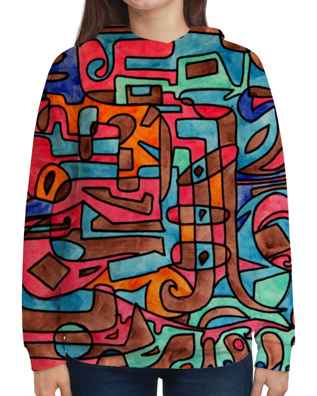 Толстовка с полной запечаткой Printio Kl-''''y4v4 рюкзак с полной запечаткой printio kl y4v4