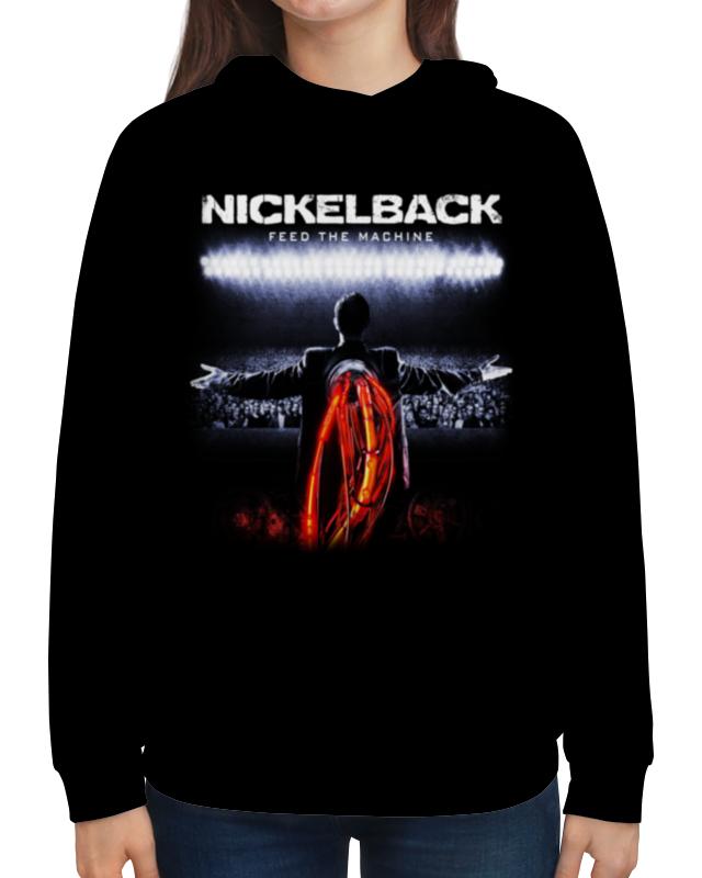 Толстовка с полной запечаткой Printio Nickelback