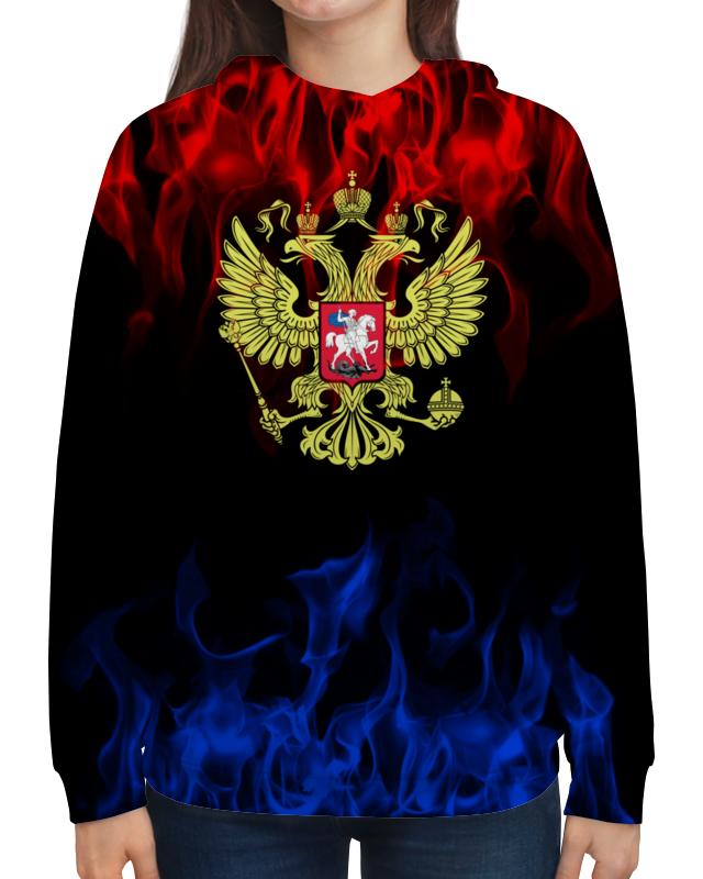 Толстовка с полной запечаткой Printio Россия толстовка с полной запечаткой printio крым россия