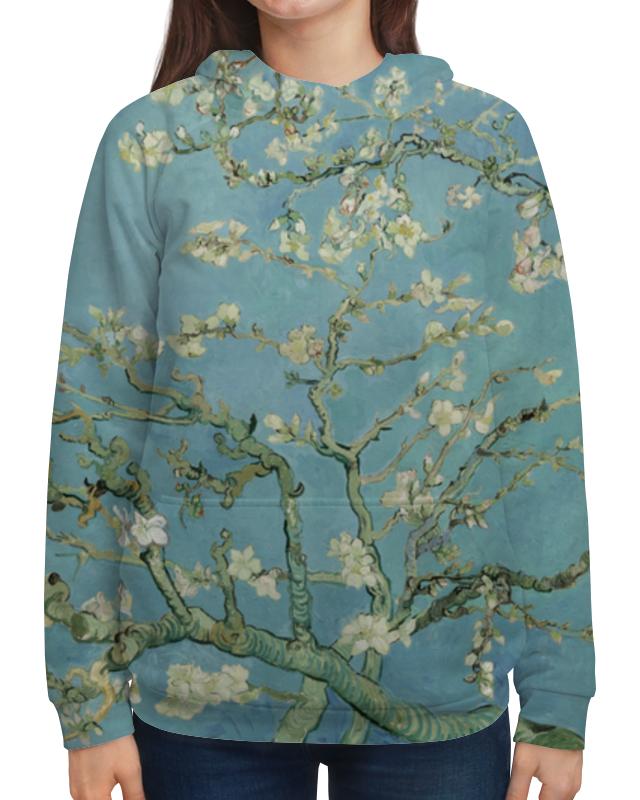 Толстовка с полной запечаткой Printio Цветы миндаля (ван гог) рюкзак мешок с полной запечаткой printio персиковое дерево в цвету ван гог