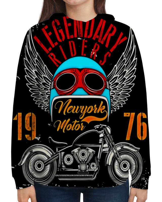 Толстовка с полной запечаткой Printio Legendary riders подушка 60х40 с полной запечаткой printio legendary riders