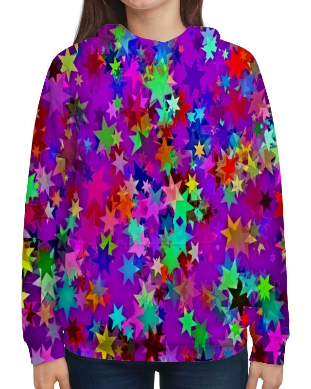 Толстовка с полной запечаткой Printio Звездное конфетти детский свитшот унисекс printio звездное конфетти