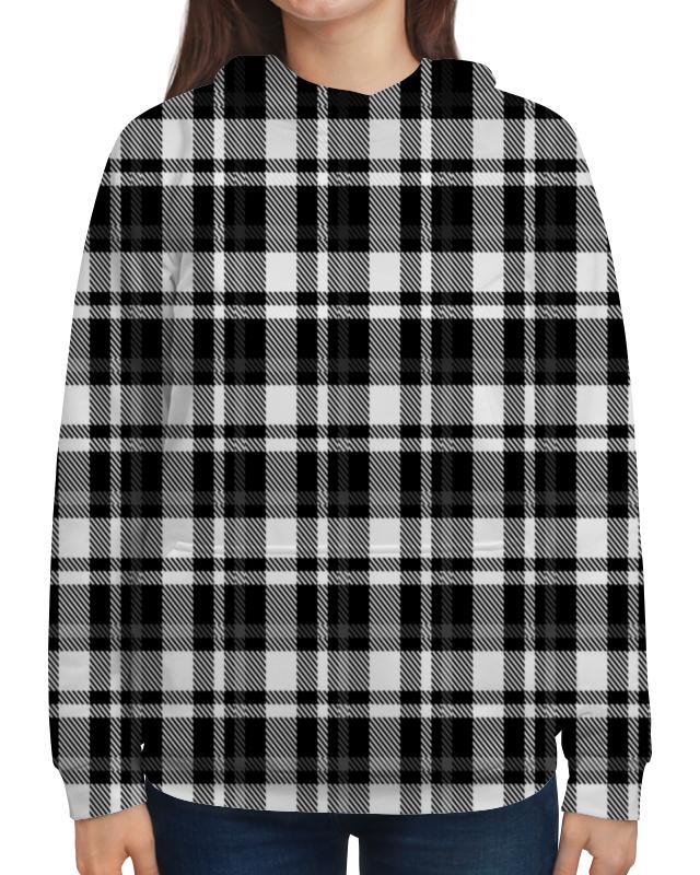 Printio Черно-белая клетка подушка 40х40 с полной запечаткой printio черно белая клетка
