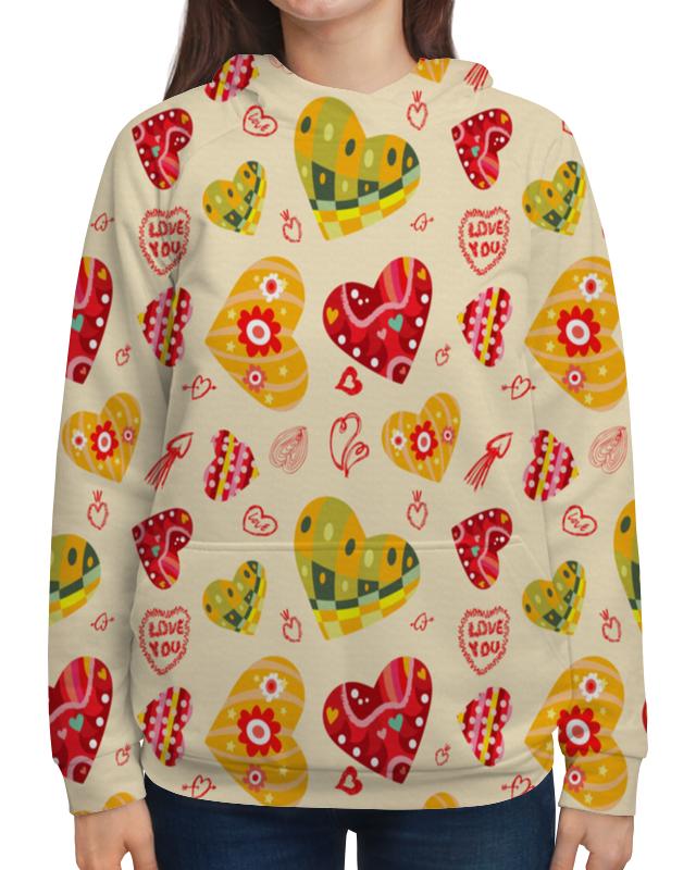 цена Printio Сердечки цветные