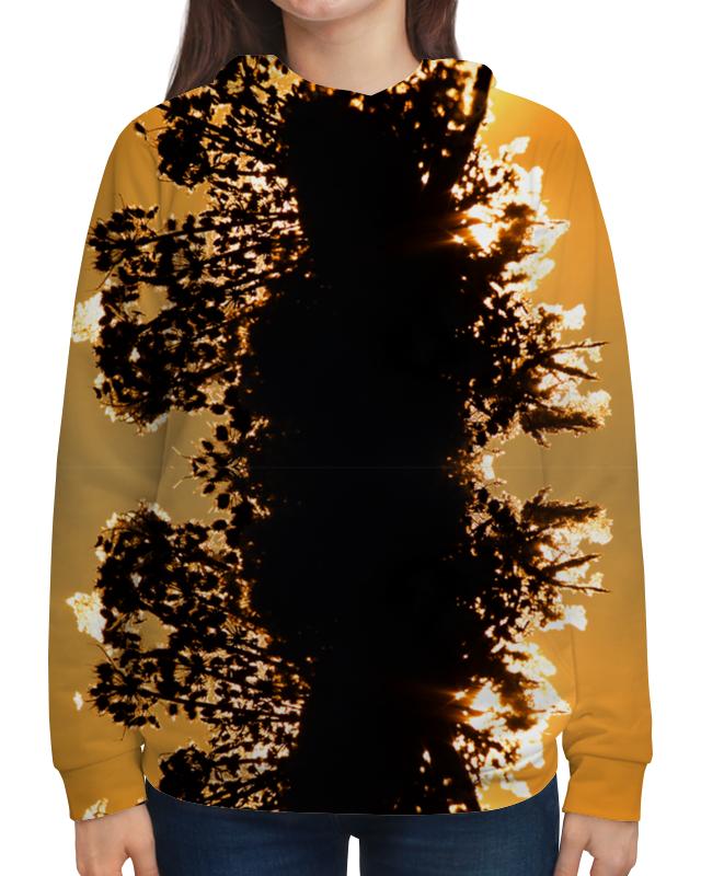 цена Толстовка с полной запечаткой Printio Осенние грёзы