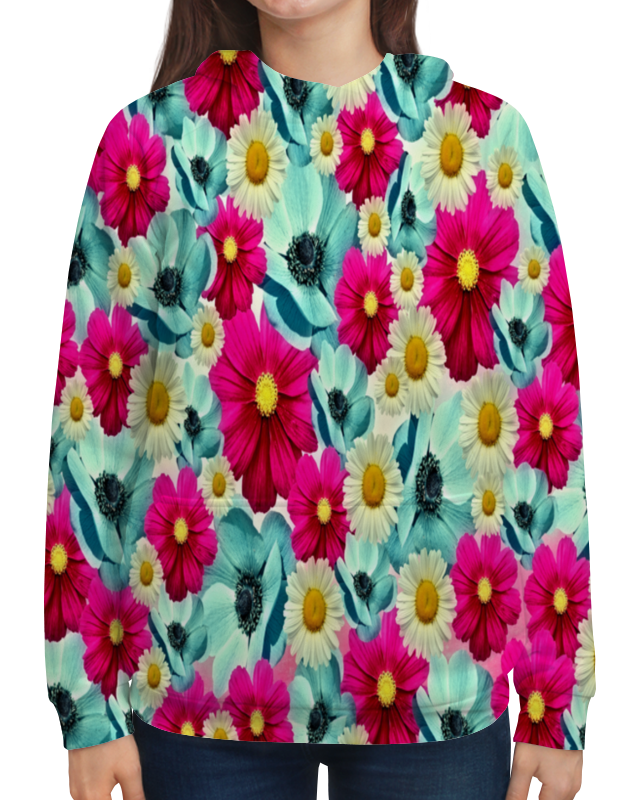 Printio Цветочный сад сумка с полной запечаткой printio сад на улице корто сад на монмартре ренуар