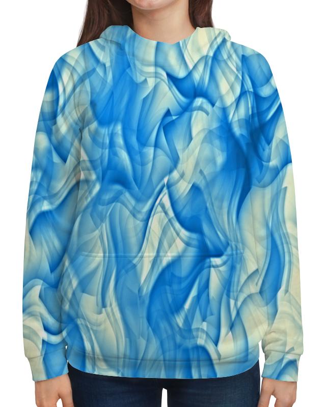 Printio Бело-голубой узор недорого