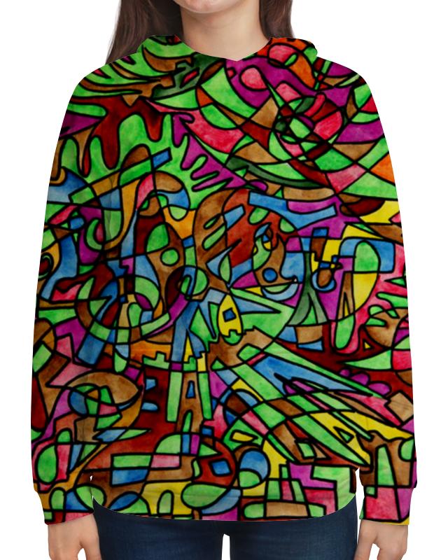 Толстовка с полной запечаткой Printio S`s`s-0.w