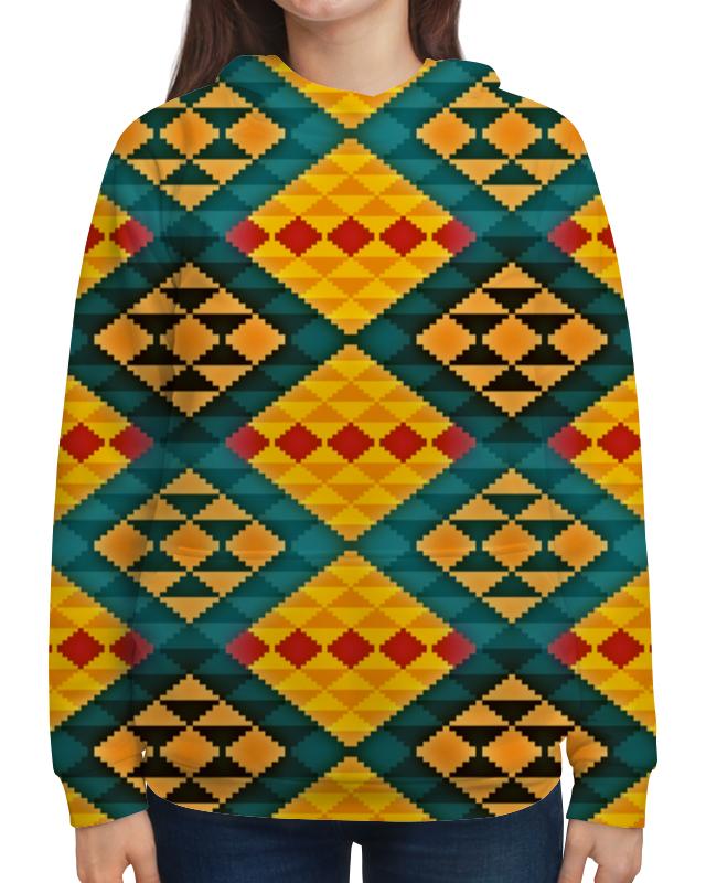 Толстовка с полной запечаткой Printio Орнамент толстовка с полной запечаткой printio орнамент из кругов