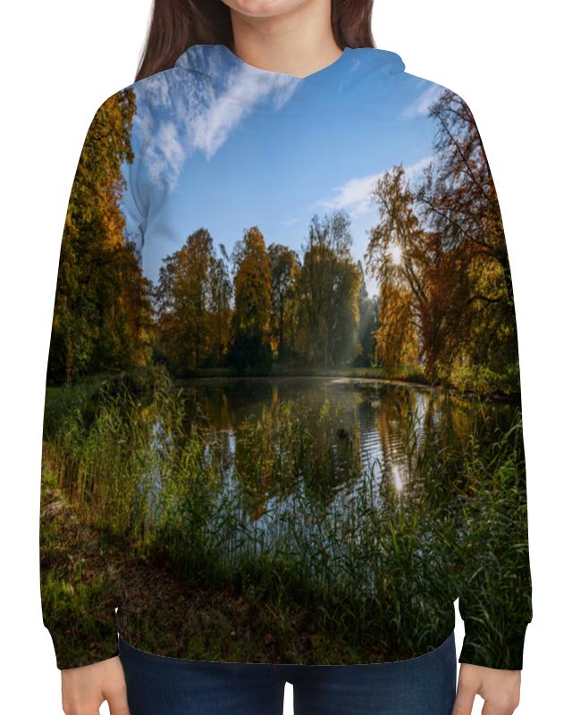 Толстовка с полной запечаткой Printio Деревья у озера камилла де ла бедуайер деревья