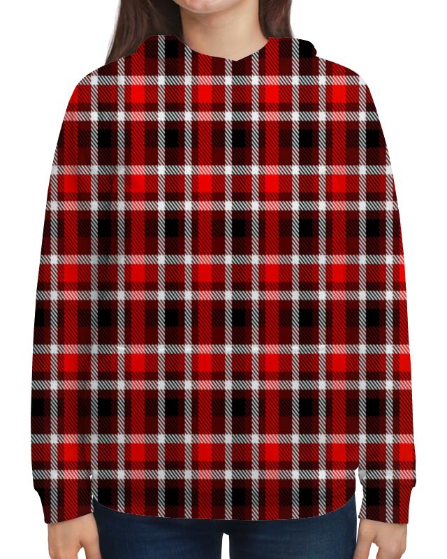 Толстовка с полной запечаткой Printio Шотландка платье без рукавов printio шотландка