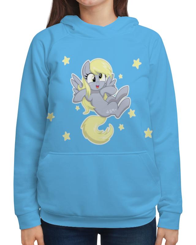 Толстовка с полной запечаткой Printio My little pony (derpy) футболка с полной запечаткой женская printio my little pony derpy
