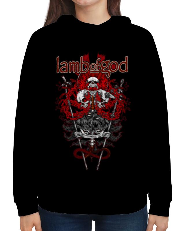 Толстовка с полной запечаткой Printio Lamb of god god of vengeance
