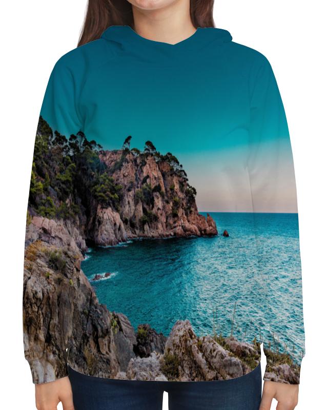 Толстовка с полной запечаткой Printio Берег сумка с полной запечаткой printio песчаный берег