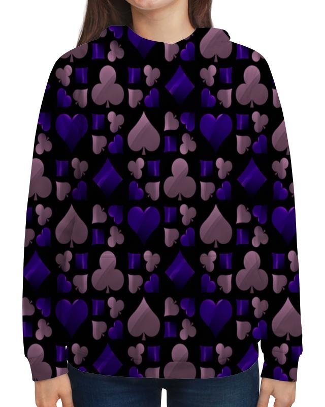 Толстовка с полной запечаткой Printio Покер лонгслив printio покер