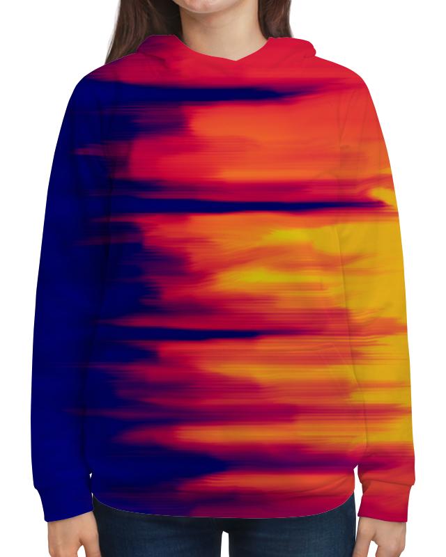 Толстовка с полной запечаткой Printio Размытые цвета футболка с полной запечаткой для мальчиков printio размытые цвета