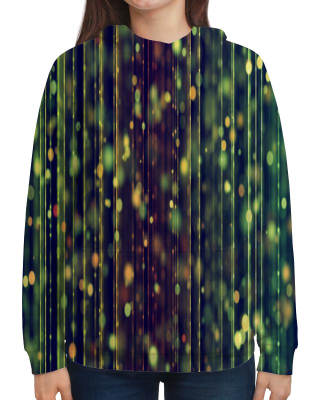 Толстовка с полной запечаткой Printio Солнечные блики подушка 60х40 с полной запечаткой printio солнечные блики