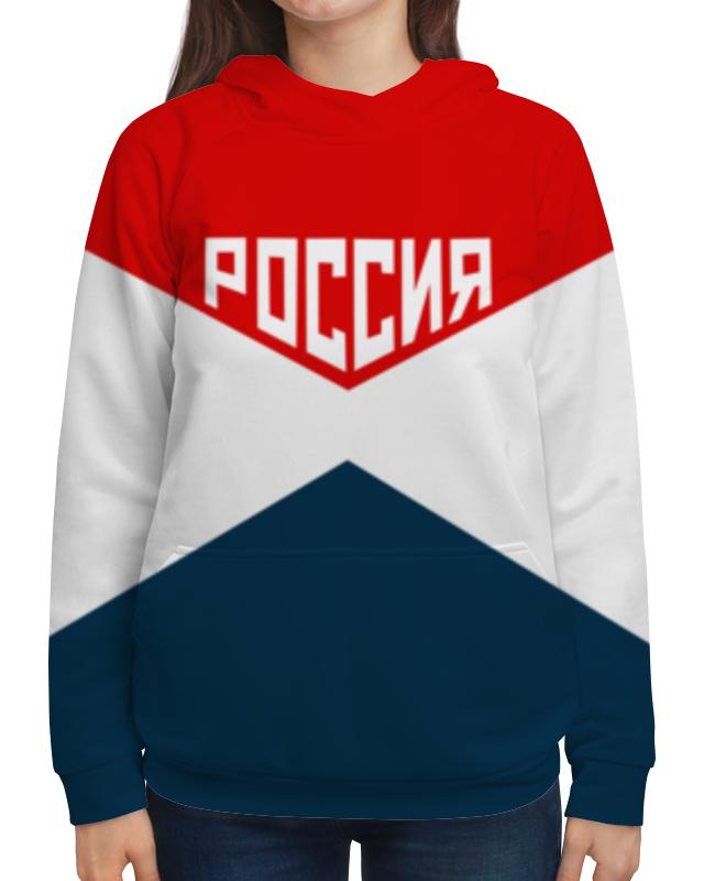 Толстовка с полной запечаткой Printio Россия национальная россия наши задачи