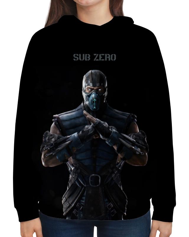Толстовка с полной запечаткой Printio Mortal kombat x (sub-zero) ground zero толстовка