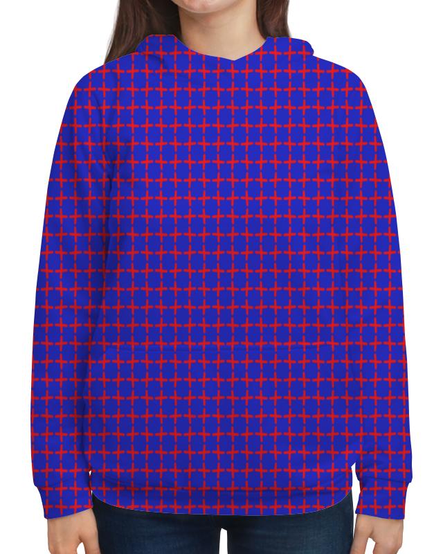 Толстовка с полной запечаткой Printio Крестики рюкзак с полной запечаткой printio крестики